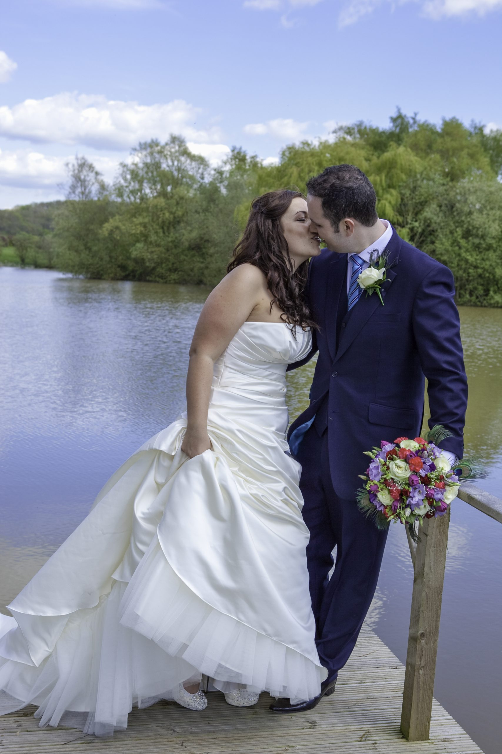 Wedding Photography, Wedding Photography, Bride & Groom Kissing, Tania Miller Photography