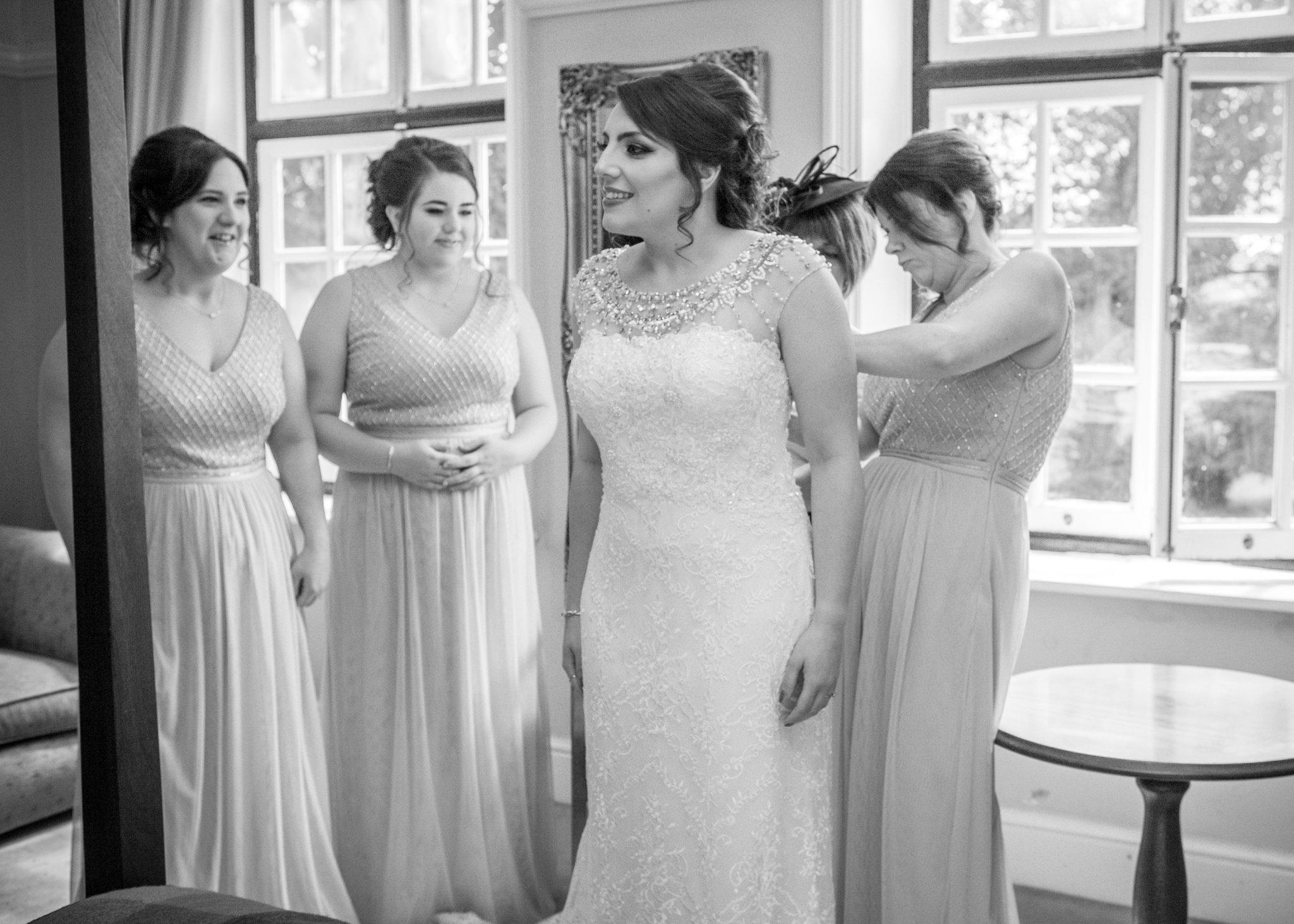 Bridal Preparations, Llansantffraed Court Wedding, Tania Miller Photography, Abergavenny wedding photographer, wedding photography Cwmbran