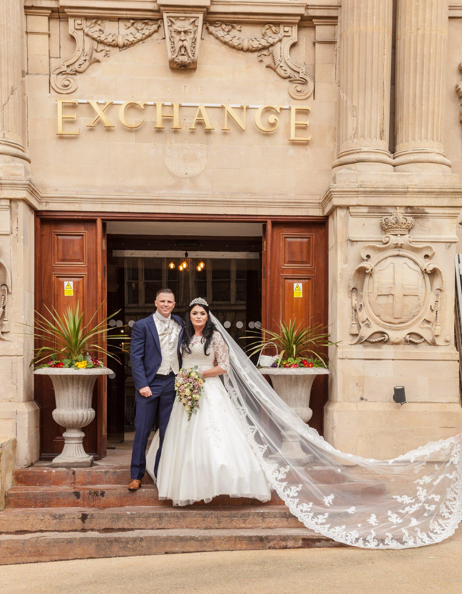 Wedding of Lena & Mark at The Exchange Hotel Cardiff, Tania Miller Photography, Cardiff Wedding Photographer