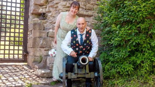 edding of Ben & Pippa at Usk Castle – 02.06.18