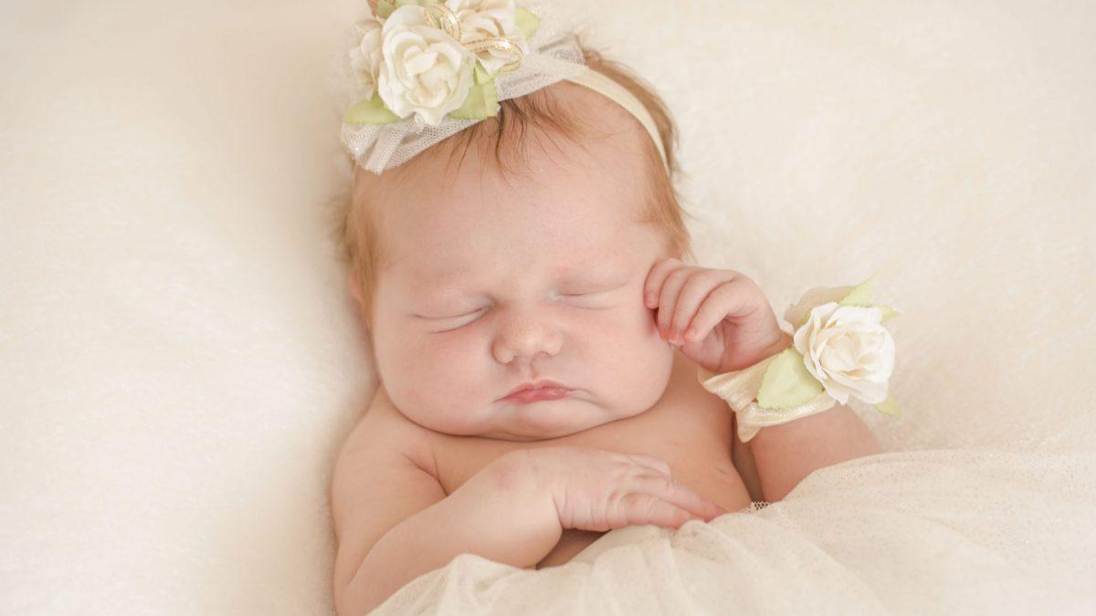 Baby Anwen at 5 days old – 06.07.18