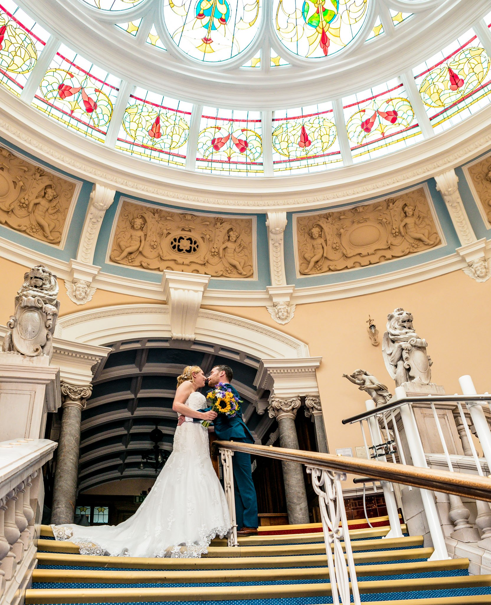Wedding of Jennie & Brendan, Hereford Town Hall, Tania Miller Photography, Hereford Wedding Photographer