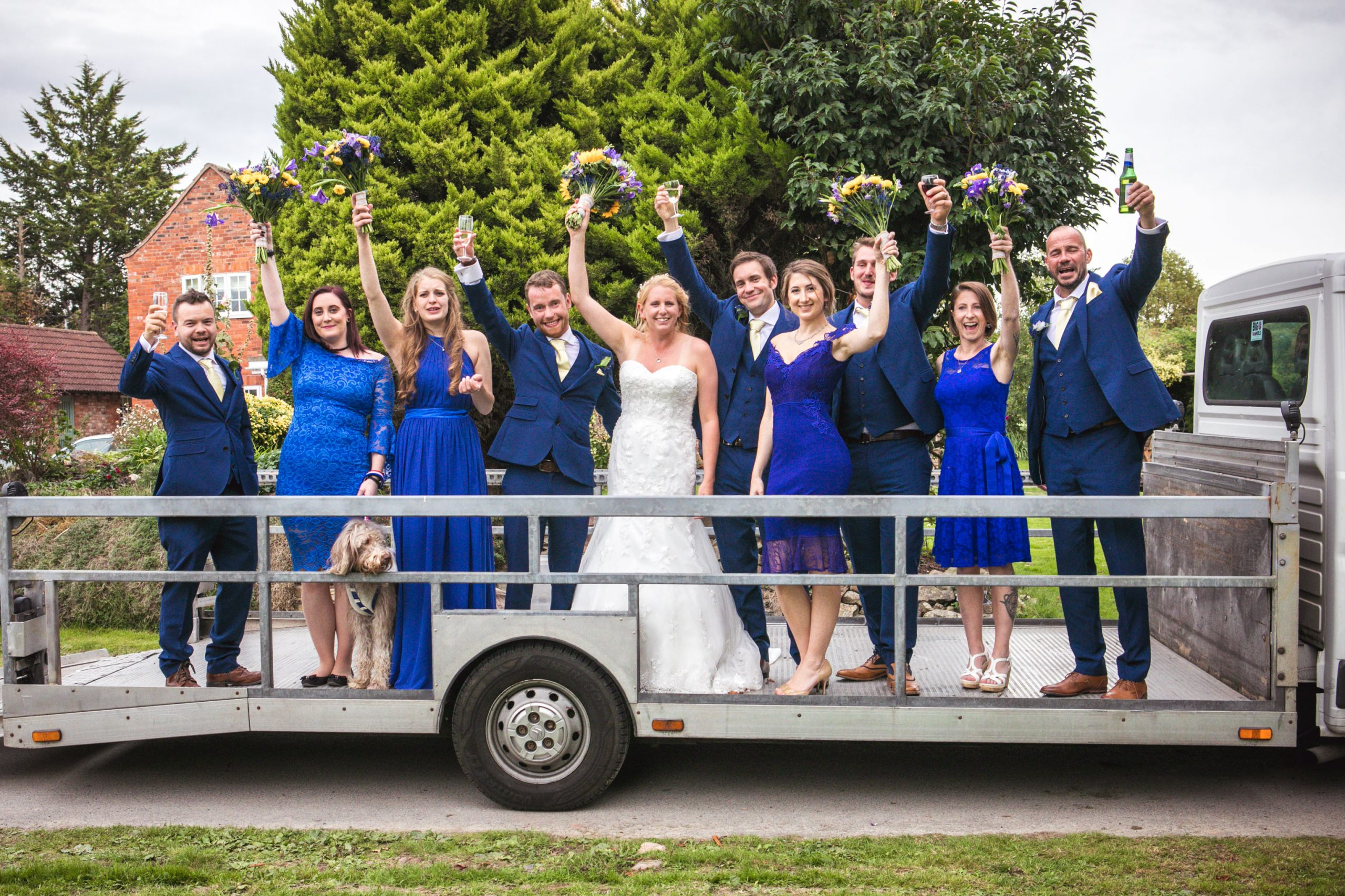Wedding of Jennie & Brendan, Tania Miller Photography, Hereford Wedding Photographer