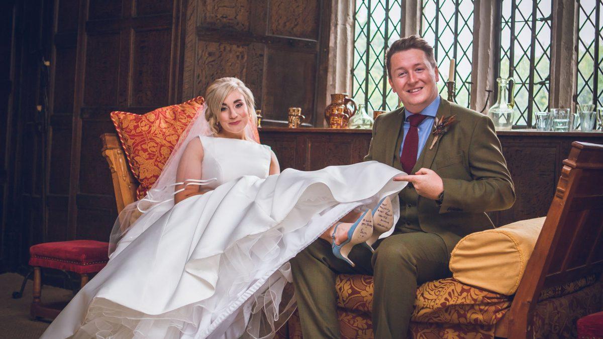 Wedding of Sam & Jaz at Llancaich Fawr – 08.09.18