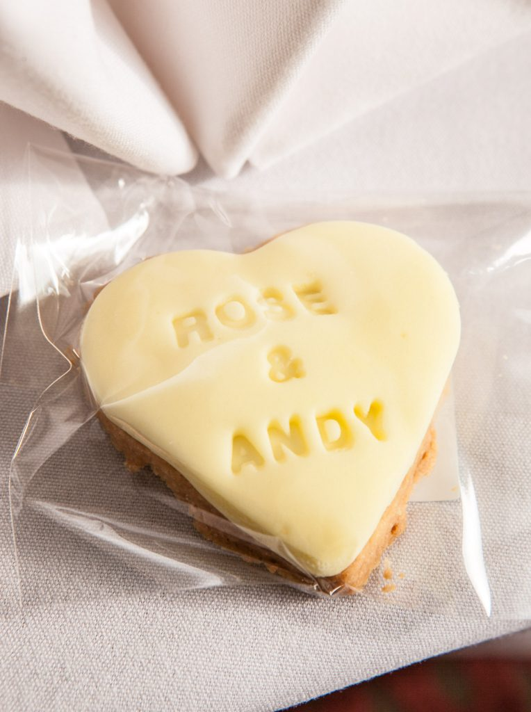 Wedding of Andy & Rose, The Sppech House Coleford, Wedding Favours, Tania Miller Photography