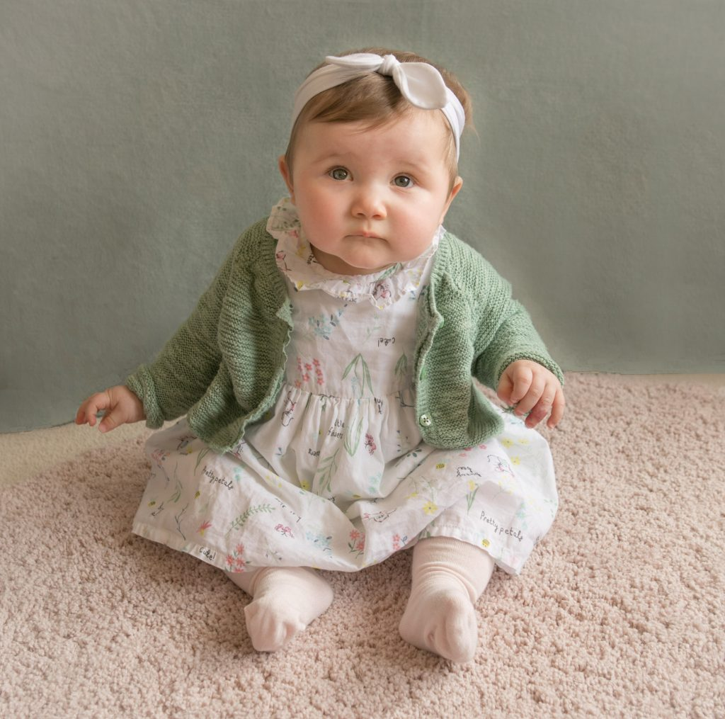 6 month old Elsie, Tania Miller Photography, Cwmbran newborn photographer