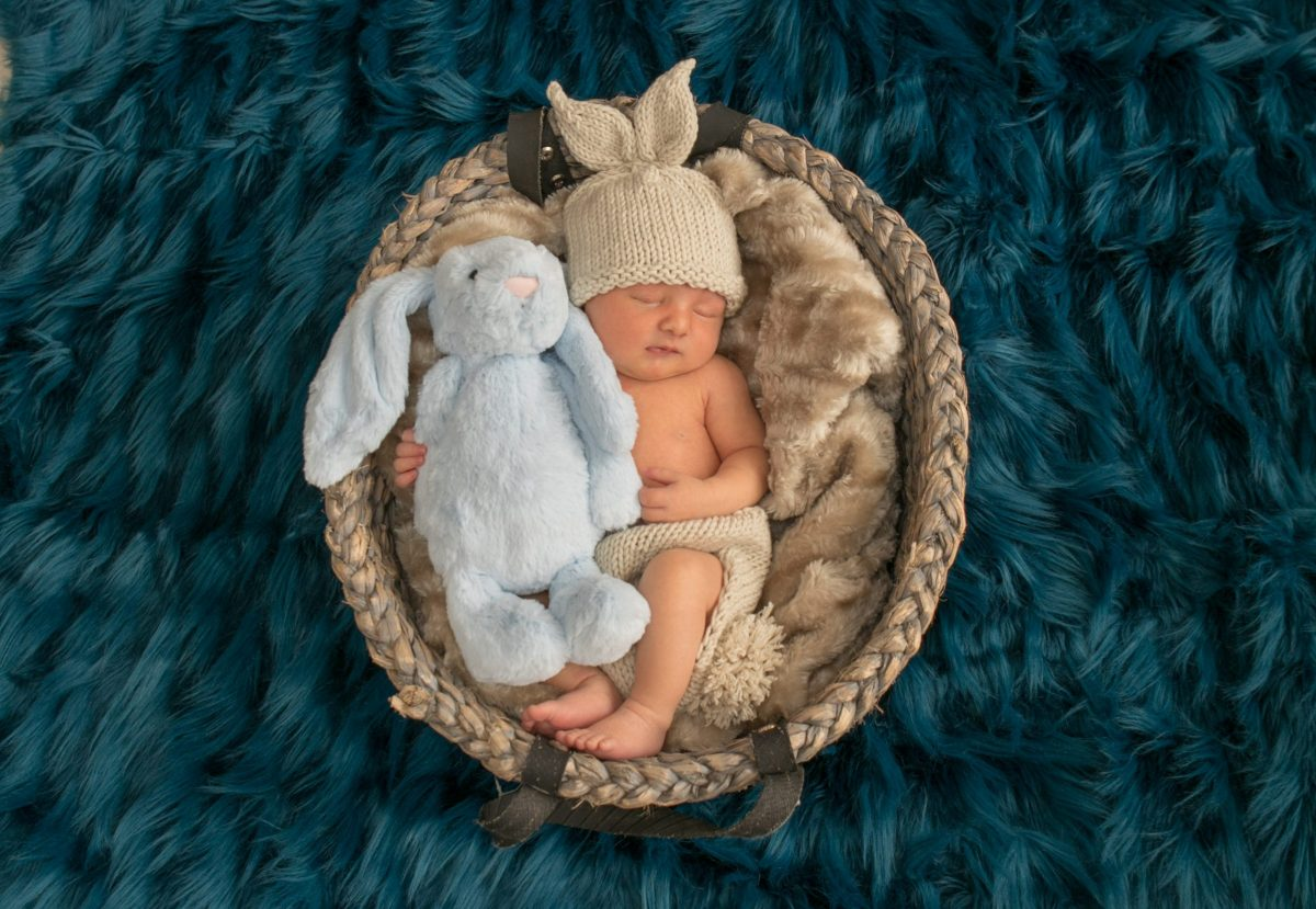 Newborn session with Baby Harry, Elsie & Luca