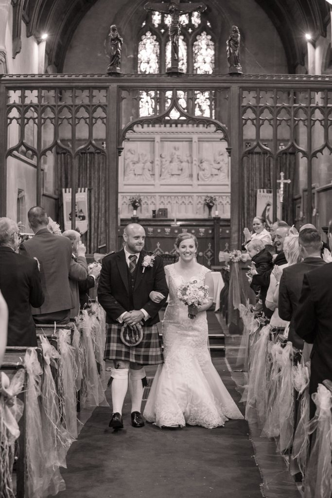 Wedding of Jake & Briony, Husband & Wife, Tania Miller Photography,
