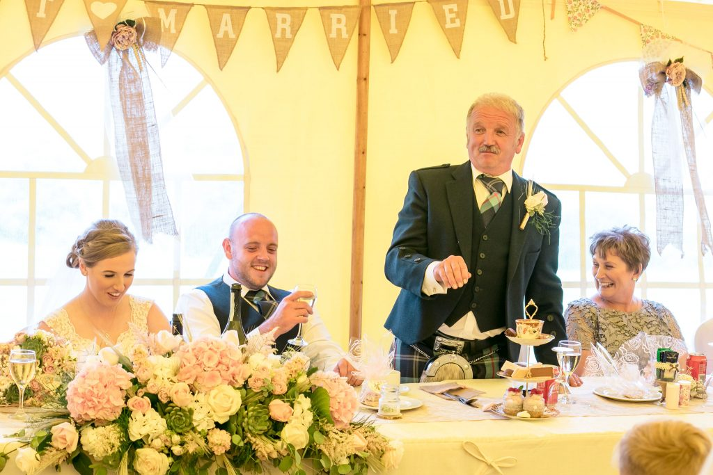 Wedding of Jake & Briony,Father of the Bride speech, Tania Miller Photography,