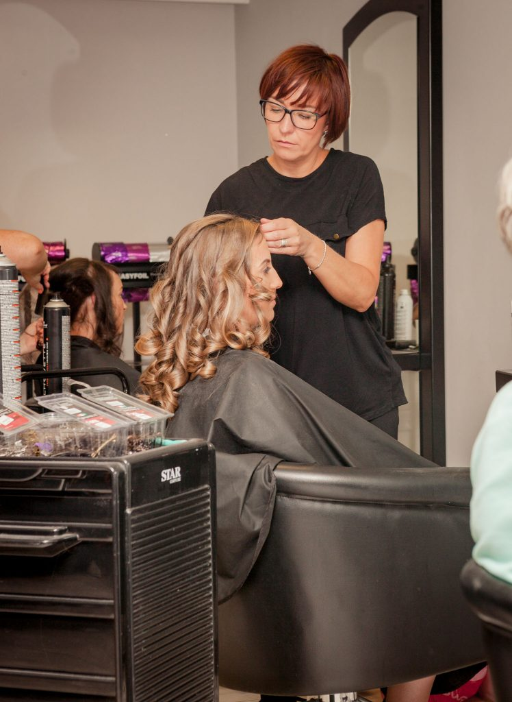 Wedding of Jake & Briony, Bridal Hair, Tania Miller Photography,