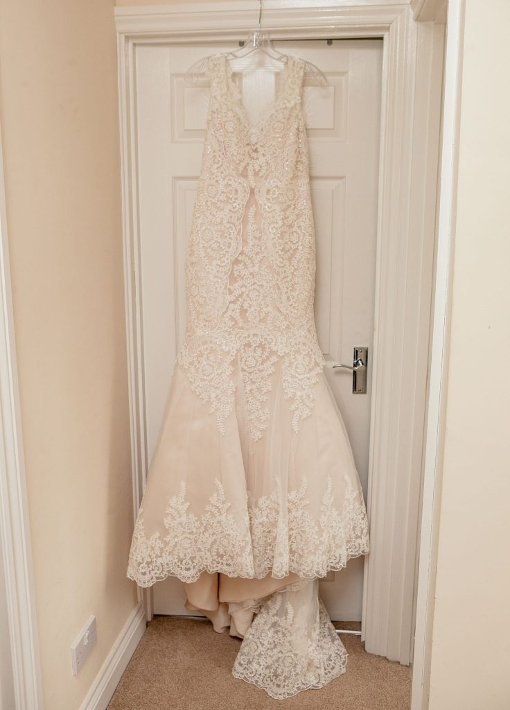 Wedding of Jake & Briony, Bridal Gown, Tania Miller Photography,