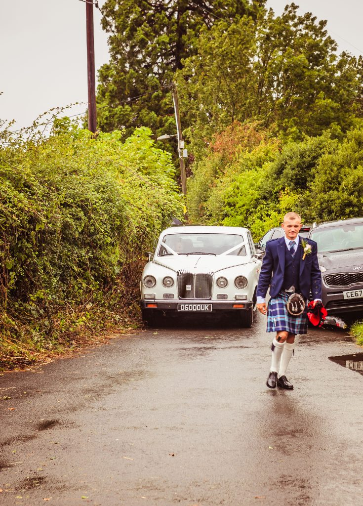 Wedding of Jake & Briony, Brides Arrival, Tania Miller Photography,