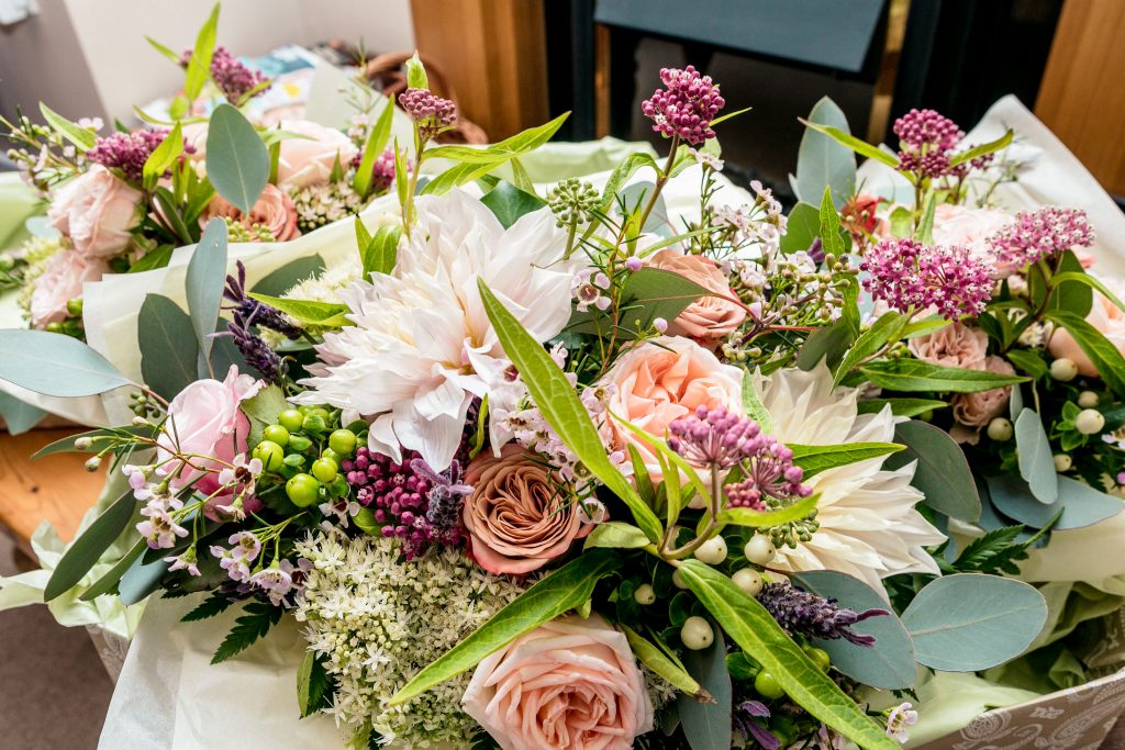 Wedding of Emma & George, Bridal Bouquet, Tania Miller Photography