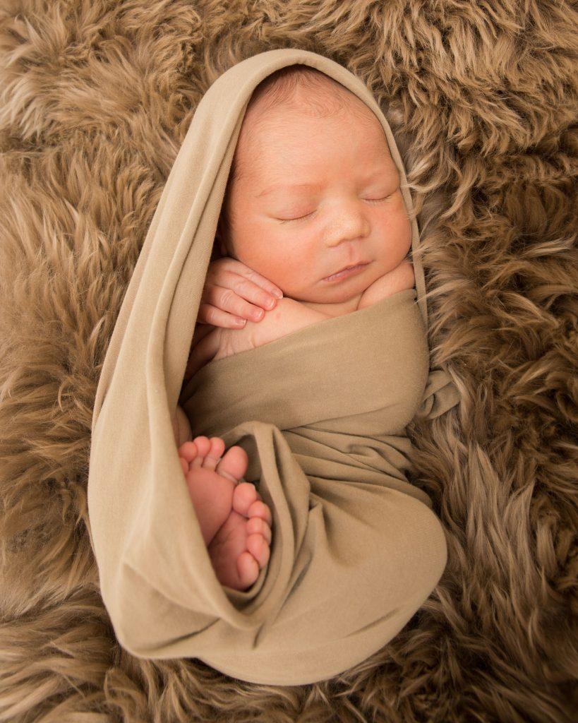 Newborn session with baby Rhys, Tania Miller Photography, Pontypool Newborn Photographer