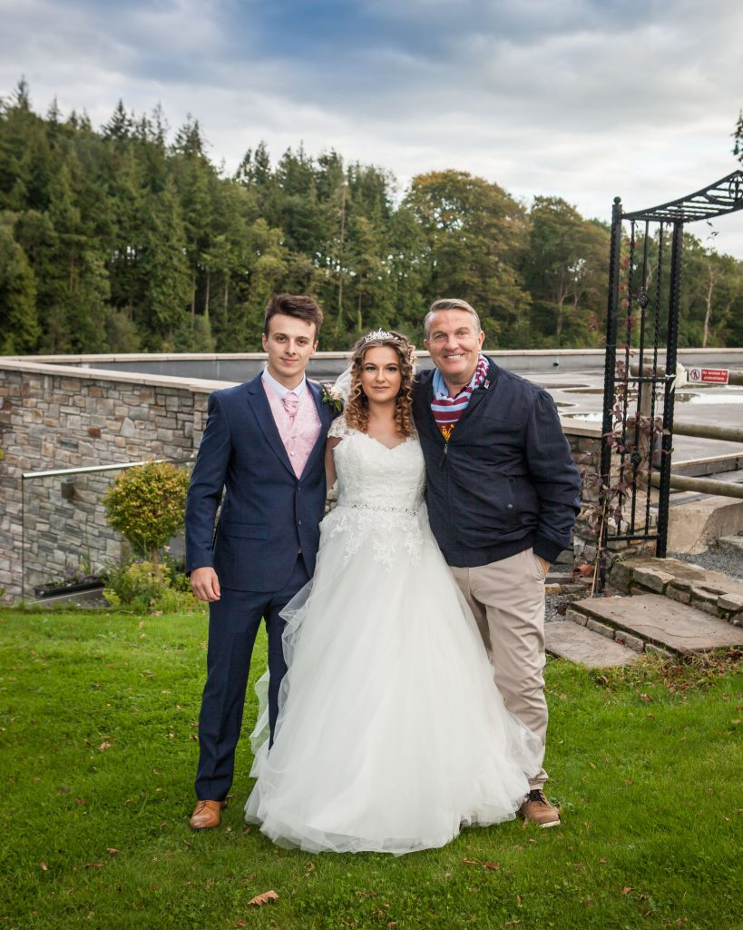 Wedding of Abbie & Rhys at Canada Lodge & Lake, Bradley Walsh, Tania Miller Photography, Cardiff Wedding Photographer
