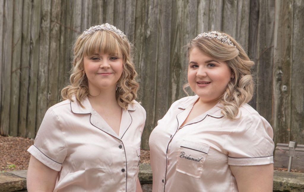 Bridesmaids, BroDan's Hair Salon, Cardiff, Tania Miller Photography, Cardiff Wedding Photographer