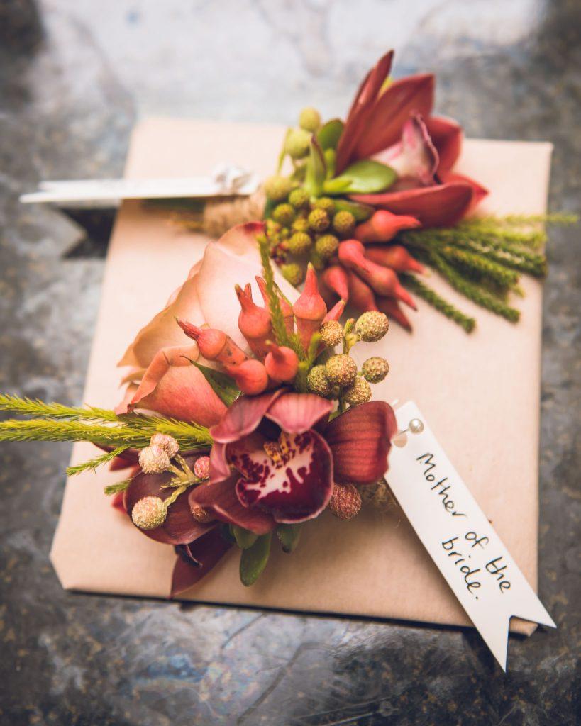 Corsage, Secret Garden Florist Cardiff, Tania Miller Photography