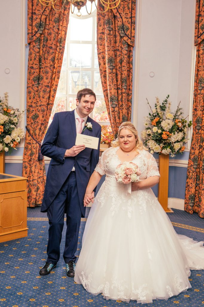 Marriage certificate, City Hall, Cardiff, Tania Miller Photography, Cardiff Wedding Photographer