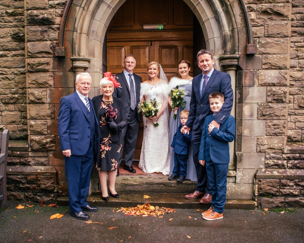 Wedding of Dean & Joanne, St Hilda's Church Griffithstown, Tania Miller Photography, Pontypool Wedding Photographer