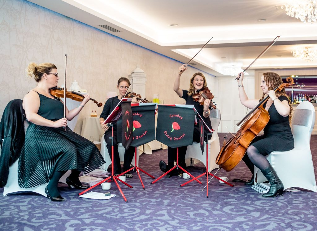 Cambria String Quartet,Tania Miller Photography, Caerphilly Wedding Photographer
