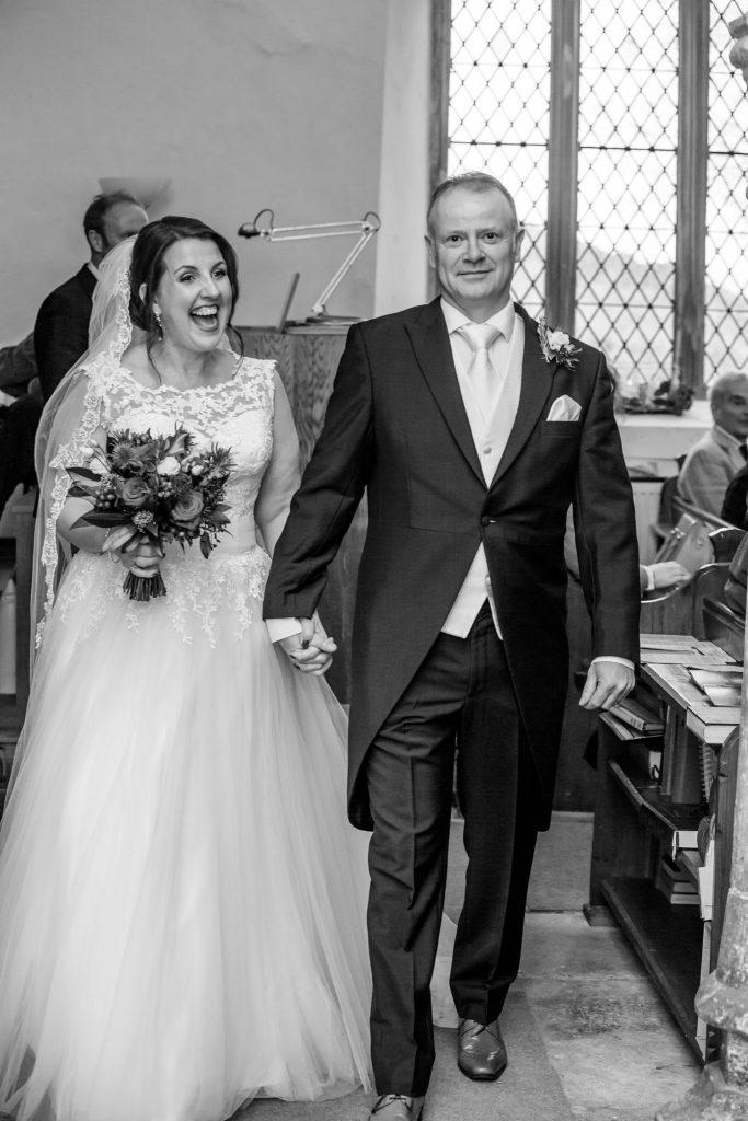 Wedding of Sarah & Gavin, Old Church Penallt, Tania Miller Photography, Monmouth Wedding Photographer