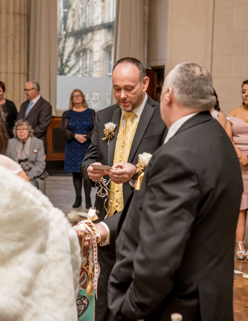 hand-fasting ceremony, Tania Miller Photography, Cardiff Wedding Photographer