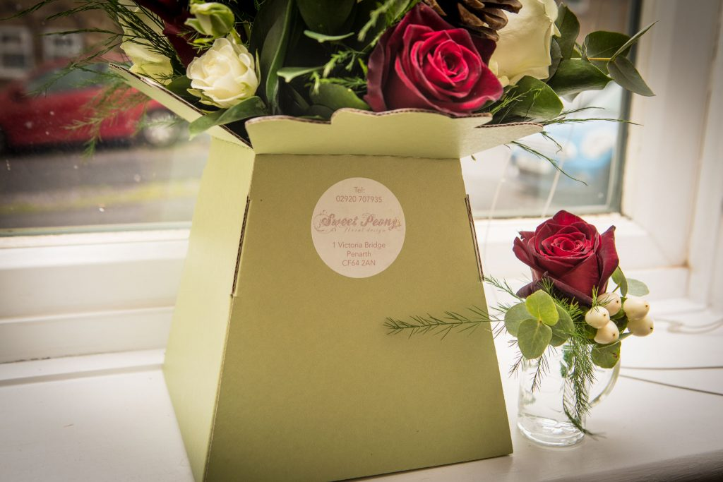 Wedding flowers, Tania Miller Photography, Cardiff Wedding Photographer