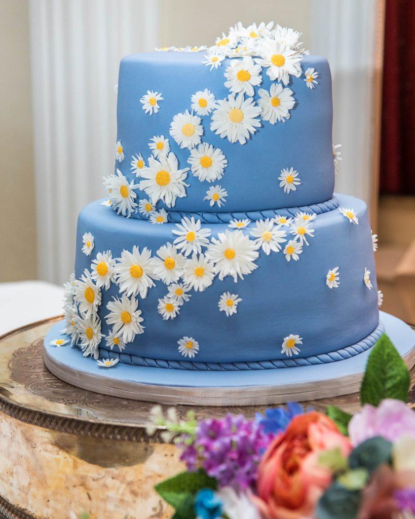 Wedding cake, Tania Miller Photography, Usk Wedding Photographer